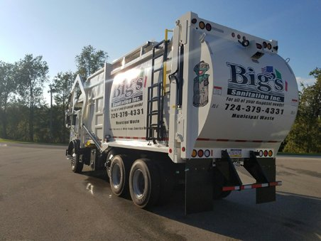 Bigs Sanitation Truck